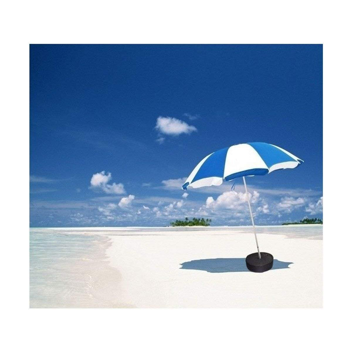 supporti e basi da 45,7 cm per parasole Do4U base con peso per ombrelloni parasole,/borsa multicolore