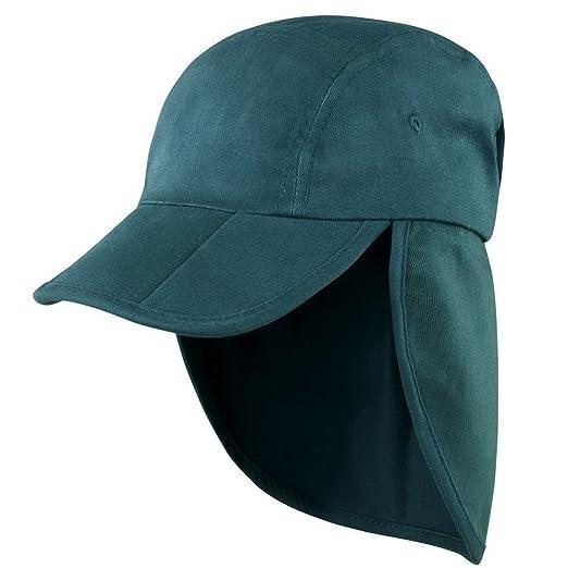 249d95e05f9ed Result Unisex Headwear Folding Legionnaire Hat   Cap (One Size) (Bottle  Green)