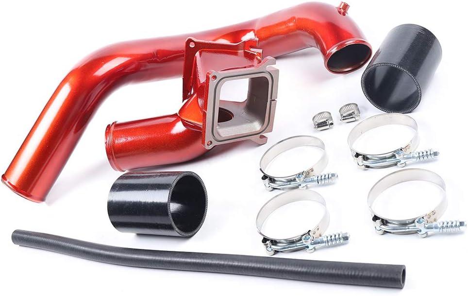Cummins Diesel Aluminum Oiled Filter Cold Air Intake Kit Fit For 2007.5-2012 Dodge Ram 6.7L
