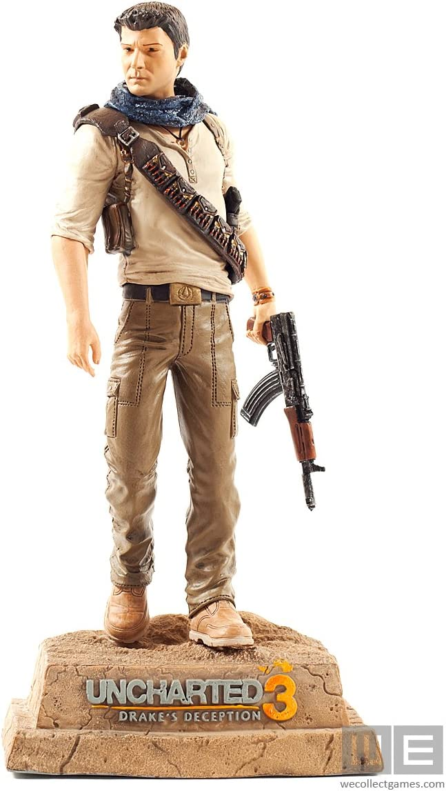 Amazon Com Uncharted 3 Nathan Drake Statue Other Products