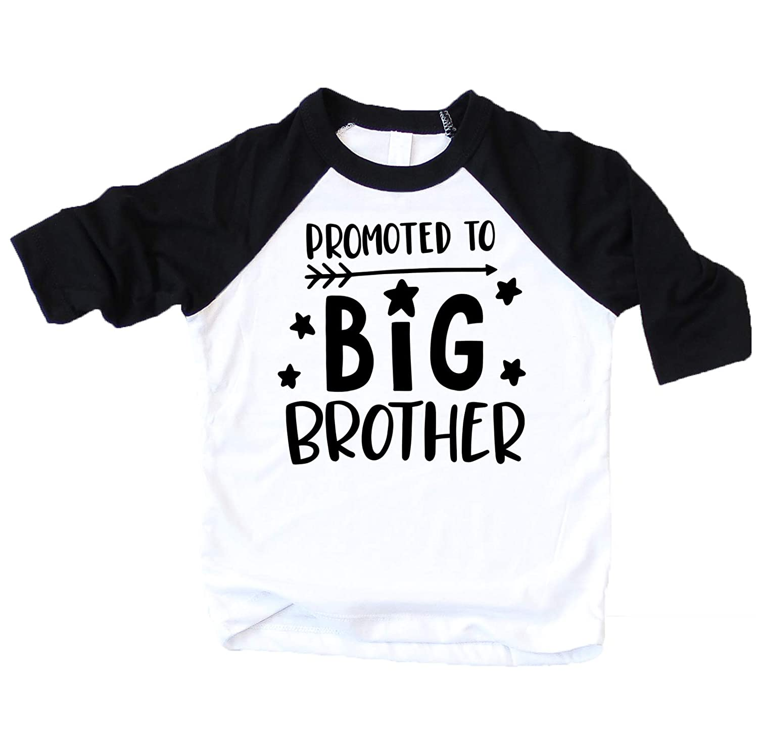 Promoted to Big Brother Gender Reveal Shirt for Sibling Brother Big Brother Shirt