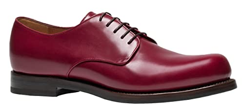Bordeaux Leather Lace Up Goodyear Shoes