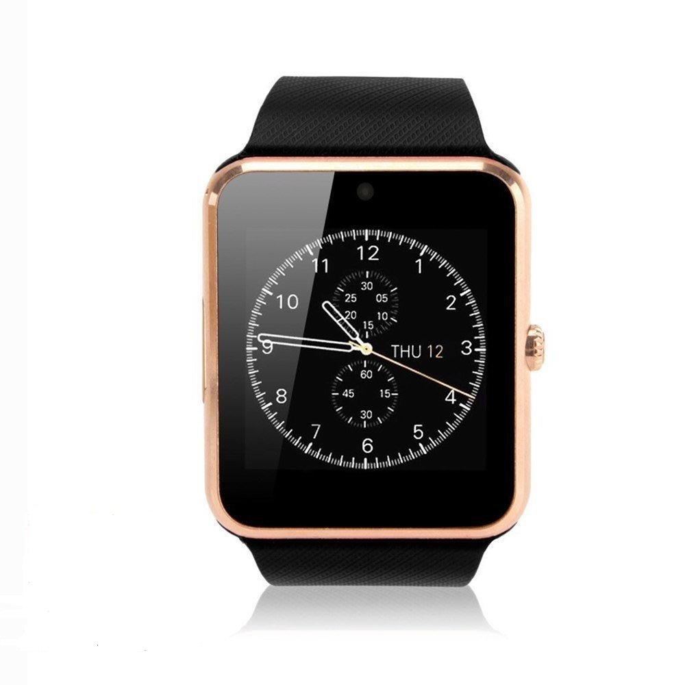 Pandaoo - Reloj inteligente universal GT08 con Bluetooth y ...