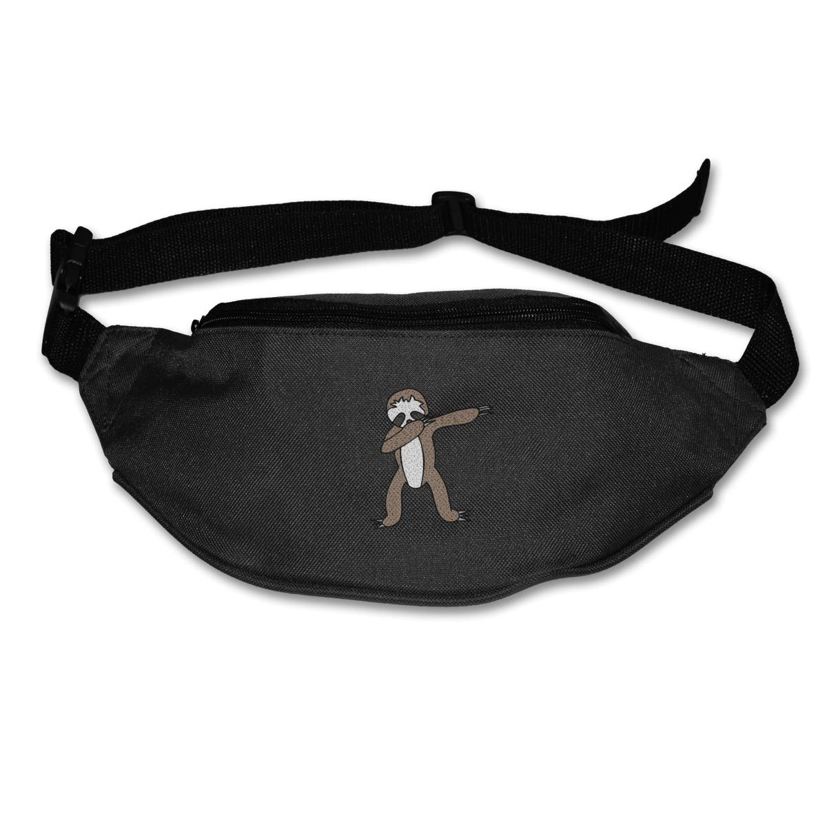 Sloth Dabbing Sport Waist Pack Fanny Pack Adjustable For Run