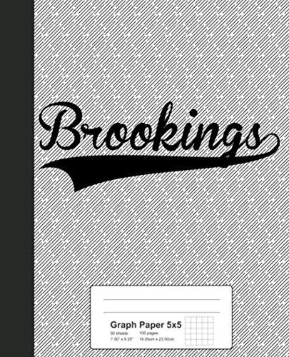 Brookings Papers - Graph Paper 5x5: BROOKINGS Notebook (Weezag Graph Paper 5x5 Notebook)