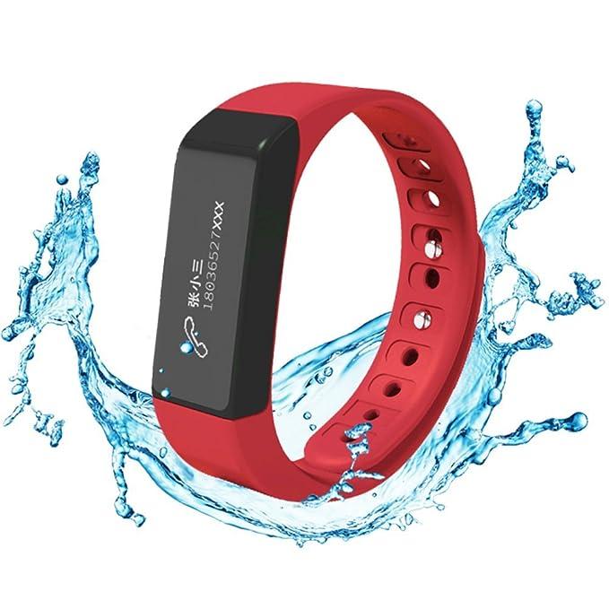 Fitness Tracker, Amytech i5 Plus IP67 impermeable pulsera ...