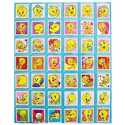Looney Tunes Faces of Tweety Bird sticker collection autocollant [Toy]: Office Products