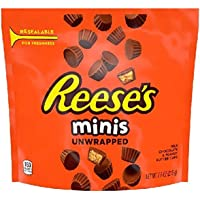Hershey's Reese's Chocolate Mini Unwrapped Peanut Butter Cups, 215 gm