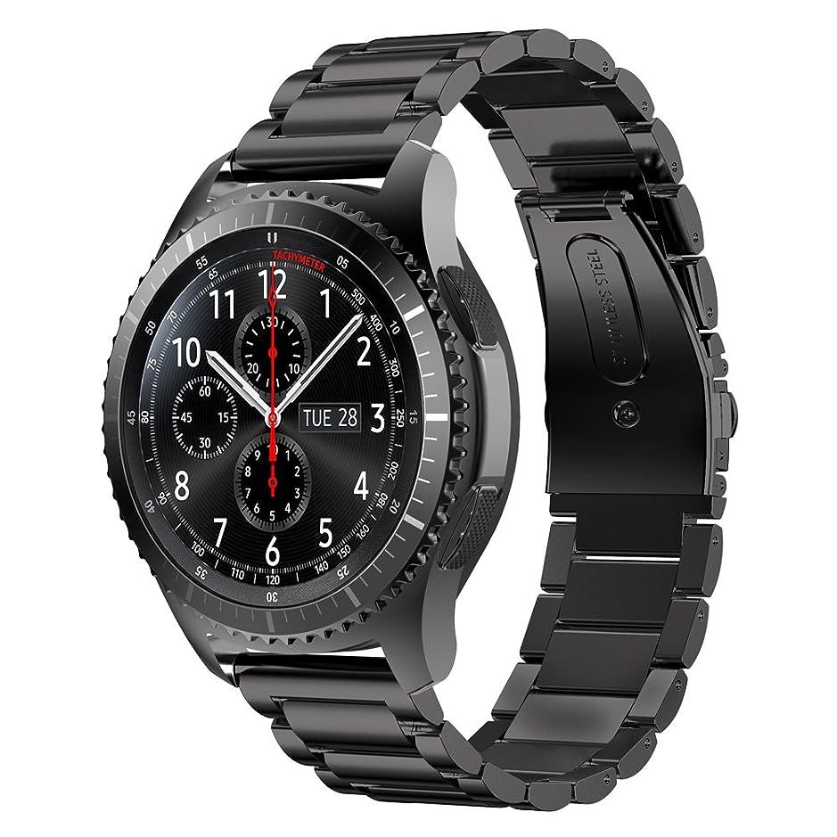 やりすぎ穏やかなガチョウ[WOCCI]時計替えベルト 18mm 20mm 22mm マット イタリアン革 腕時計交換バンド