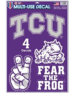 WinCraft TCU Horned Frogs Full Color Die Cut Decal 8 X 8