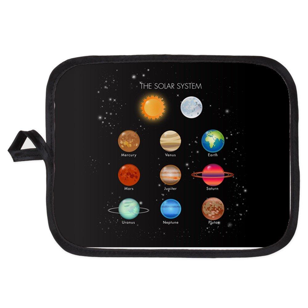 Potholder Pot Holder Solar System Sun Moon and Planets
