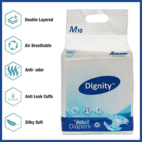 diapers from adult Urine odor