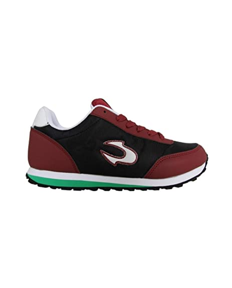 JOHN SMITH, Zapatillas Deporte de Mujer UXIR W 15I Negro-Granate, 40 EU: Amazon.es: Zapatos y complementos