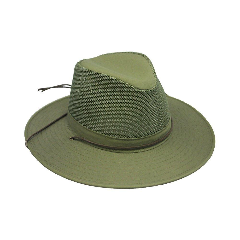 59aabb6d00f9b Henschel Hats Aussie Breezer 5320 Firm Mesh Olive Hat