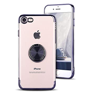 MOEVN iPhone 8 Funda Carcasa Transparente para iPhone 7 ...