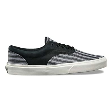 55f373f6dd3 Image Unavailable. Image not available for. Color  Vans Era CA Mens Size 8  Italian Weave Nubuck Black Fashion Skateboarding Shoes