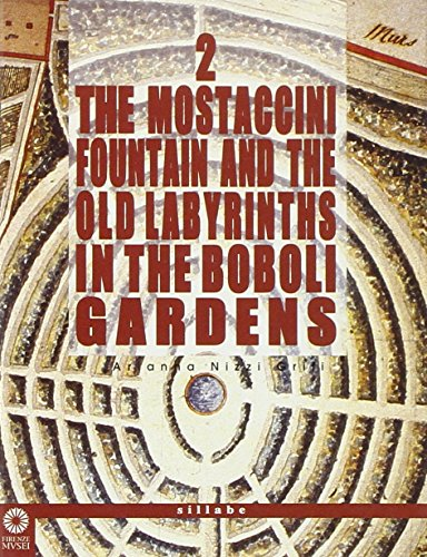 (The Mostaccini fountain and the old labyrinths in the Boboli gardens)