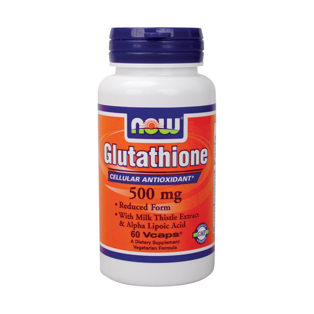 Now Foods, Glutathione 500mg, 60 Capsules
