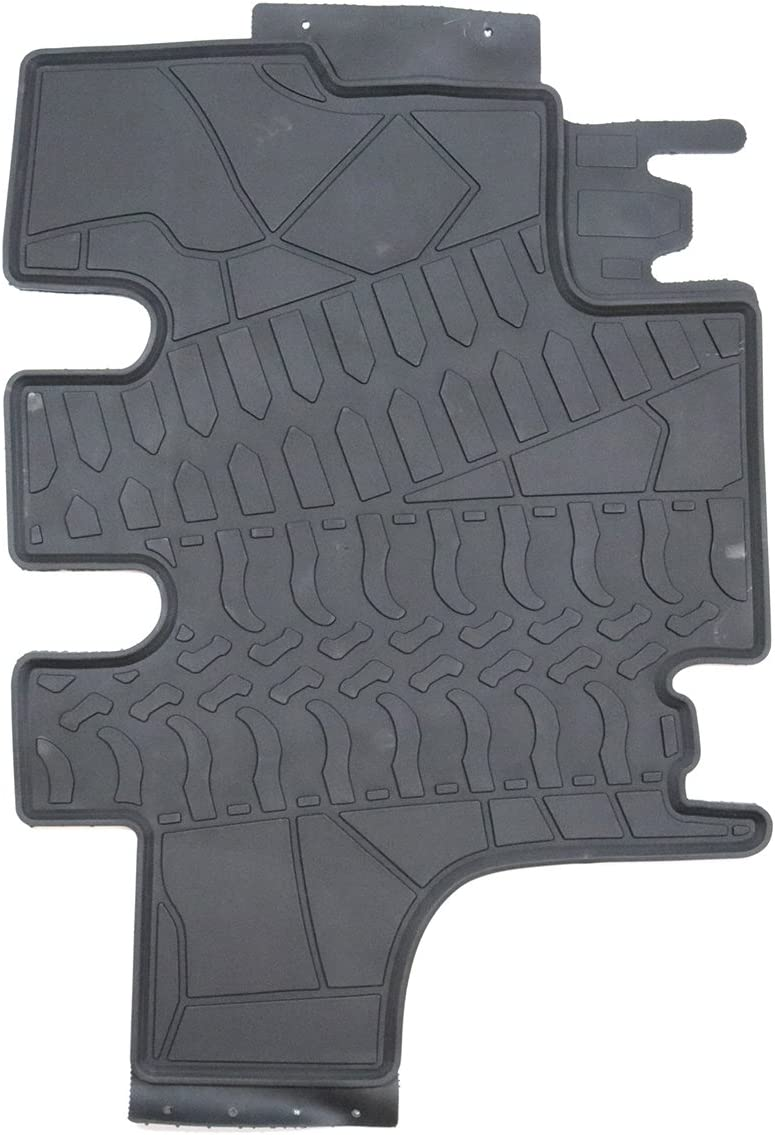 TMB All Weather Floor Mats for Jeep JK Wrangler Unlimited 2007-2016