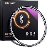 K&F Concept 77mm MC UV Protection Filter Slim Frame with Multi-Resistant Coating for Camera Lens