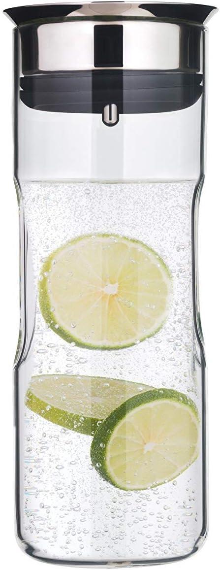 WMF Motion - Jarra de agua 0,8 l, altura 24 cm Jarra de cristal ...
