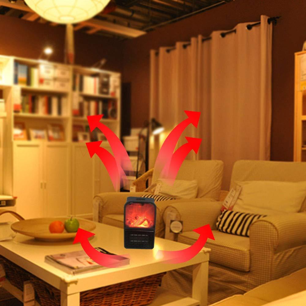 Radiateur Soufflant Electrique Mini Heater Chauffage dappoint avec Temp/érature Constante automatique 900 W Mini Chauffage Portable pour Salle de Bain Chambre Bureau Appartement Blanc