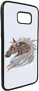 كفر جلاكسي نوت 5  بتصميم فن تشكيلي - رسمة حصان