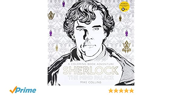 Sherlock: the mind palace: a coloring book adventure: Amazon.es ...