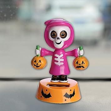 Auto Ornament Ornamente,Solar Wackel Halloween Schwingende Animierte ...