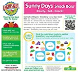 Earths Best Organic Sunny Days Snack Bars, Strawberry, 8 Count