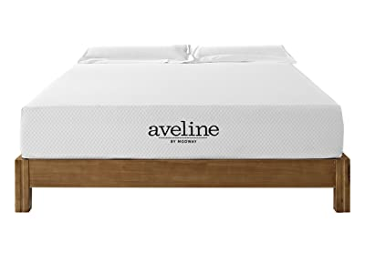 "Modway Aveline 10"" Gel Infused Memory Foam Queen Mattress"