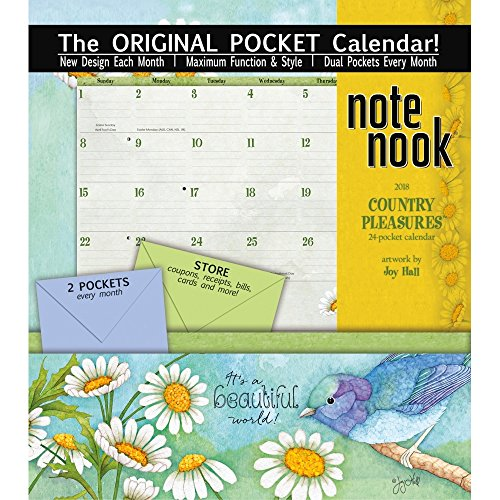The LANG Companies WSBL Country Pleasures 2018 note Nook Office Wall Calendar (18997007206)
