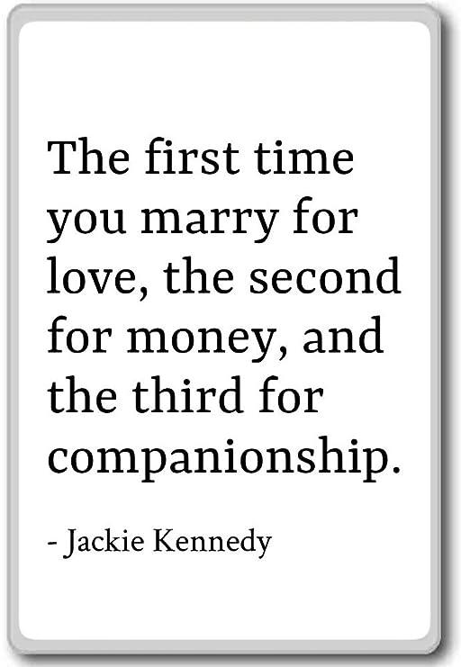 La primera vez que casarse por amor, la Secon... - Jackie Kennedy ...