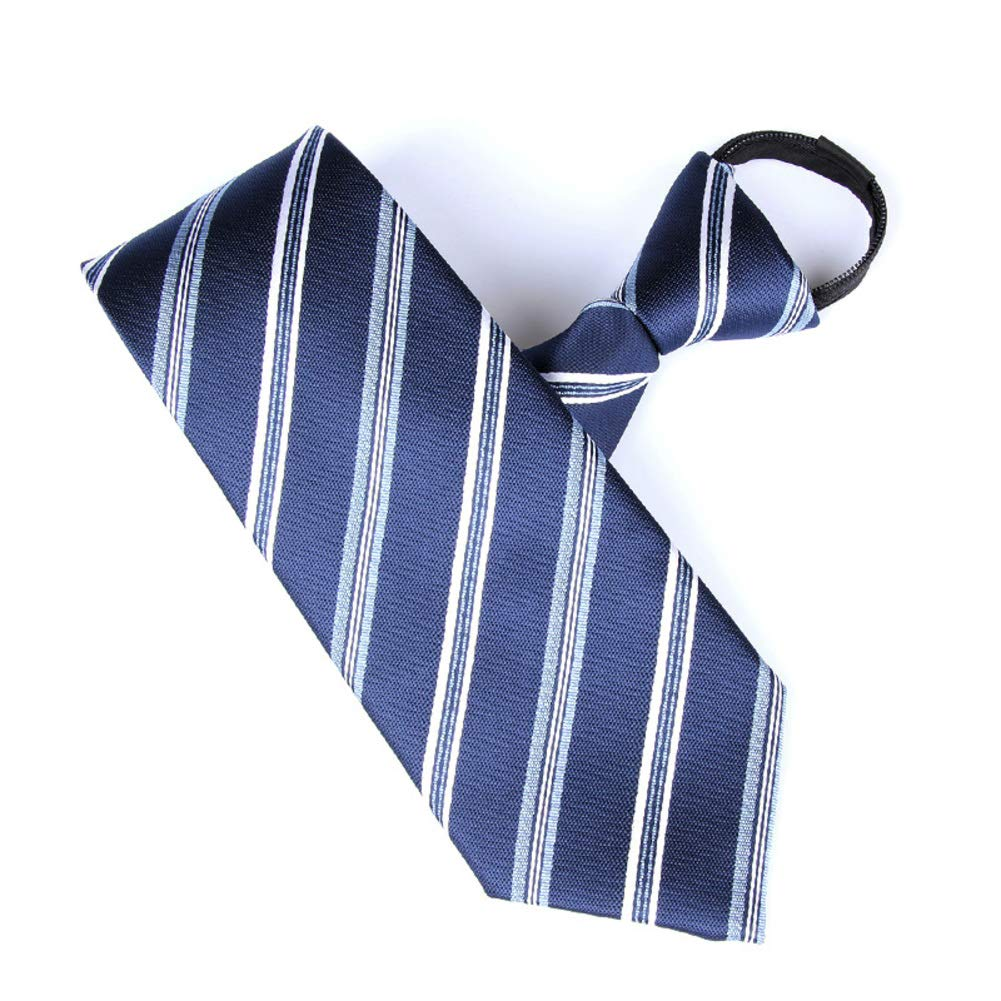 IiSionsy Mens Zipper Ties,Formalwear Business Occupation Mens Accessories Neckties