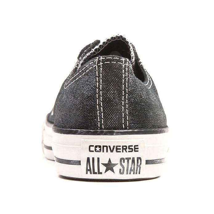 5052ba84cd58 Converse Chuck Taylor All Star Femme Sparkle Wash Ox 382450 Damen Sneaker   Amazon.de  Schuhe   Handtaschen