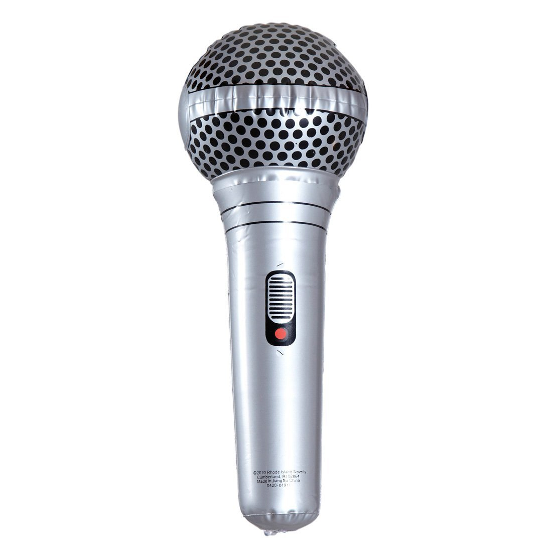 NET TOYS Microphone gonflable microphone air micro caoutchouc mic PVC karaoke gonflable attrapes micro rock star