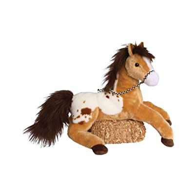 "Glisten Golden Appaloosa 16"" by Douglas Cuddle Toys: Toys & Games"