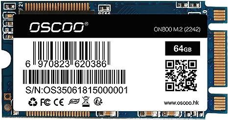 Festnight OSCOO NGFF/M.2 2242 Laptop SSD 64GB Disco de Estado ...