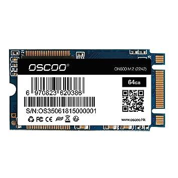 Grborn NGFF/M.2 2242 Laptop SSD 64GB Disco de Estado sólido SATA3 ...