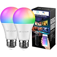 Deals on LE LampUX Smart LED Light Bulbs, Works w/Alexa Google Home