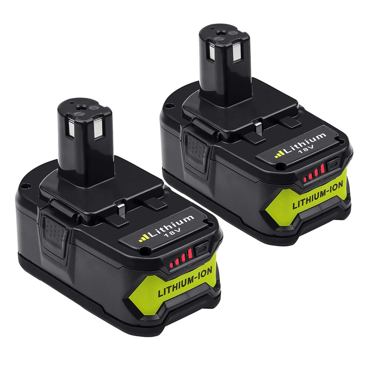 2X Reoben BL1860B 18V 6.0AH Li-ion Battery Pack for Makita BL1860B BL1850B BL1840B BL1830B BL1860 BL1850 BL1840 BL1830