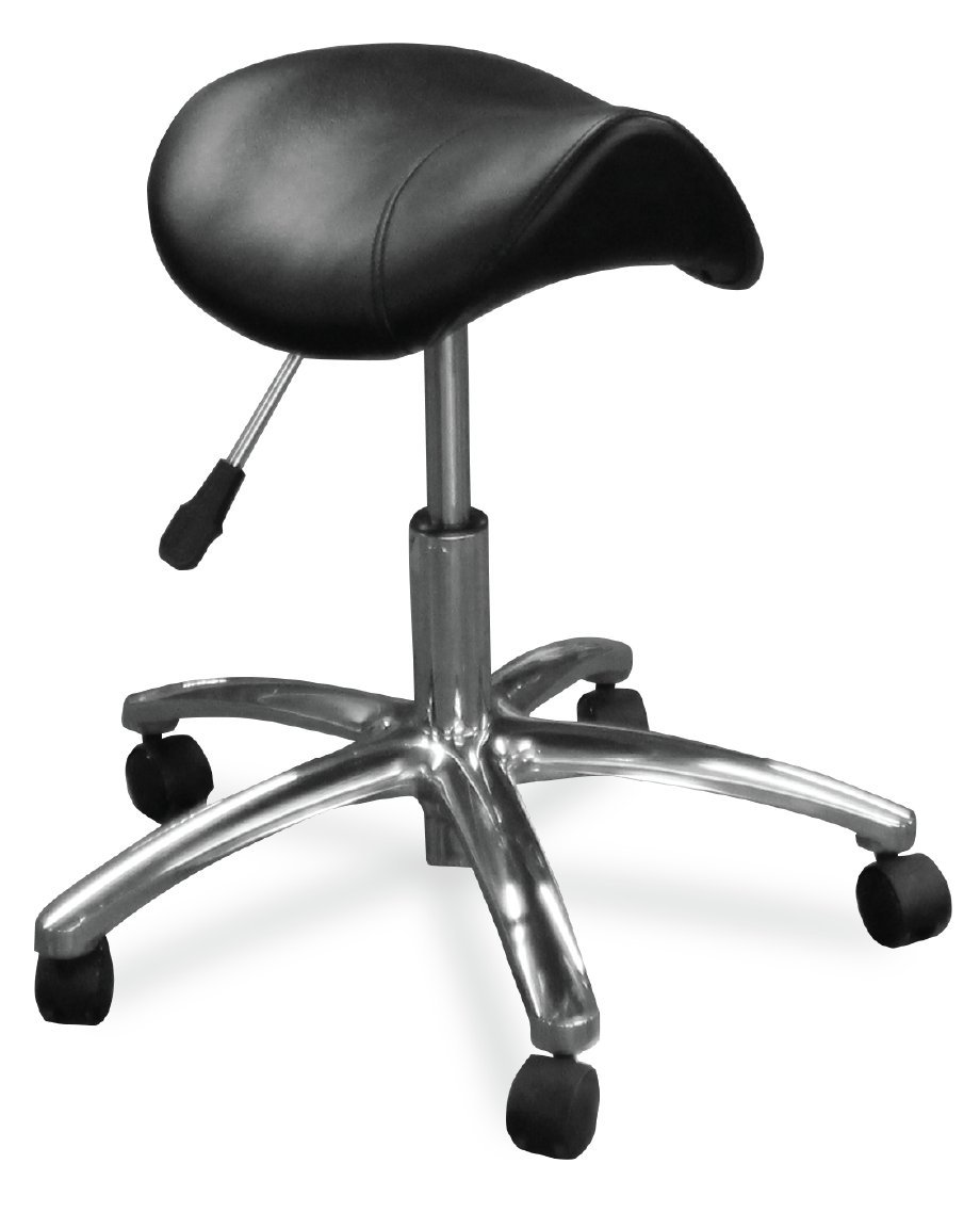 Dentists Unite 4020 Professional Dental Stool, Comfort Saddle Series by Dentists Unite