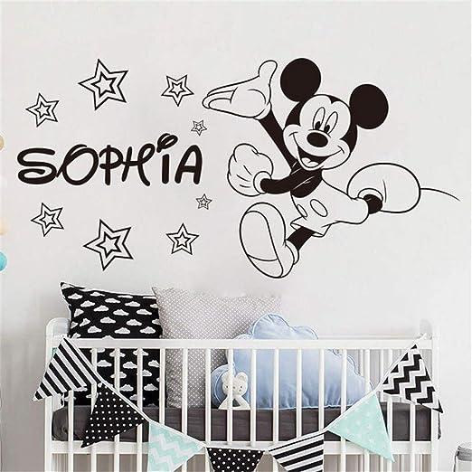 etiqueta de la pared Mickey Mouse Etiqueta de La Pared Etiqueta ...