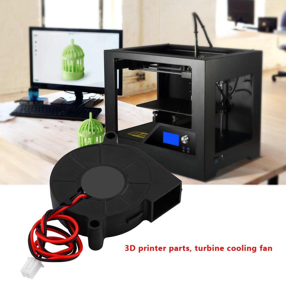 15mm Imprimante 3D Refroidissement Ventilateur Kit Accessoires pour 3D Imprimante 12V 24V DC 50 VBESTLIFE 12