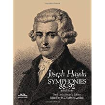 Symphonies 88-92 in Full Score: The Haydn Society Edition
