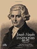 Symphonies 88-92 in Full Score, Joseph Haydn, 0486244458