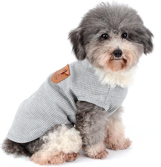Zunea - Camisas para perros pequeños, camiseta sin mangas: Amazon.es: Hogar