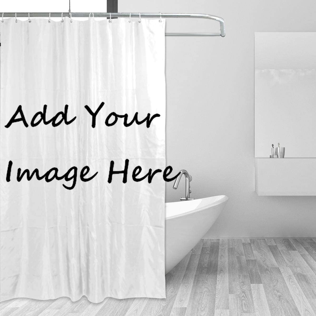 Amazon Com Suabo Custom Shower Curtain Personalized Bathroom Shower Curtain Set Add Your Own Design Image Here 72x72in Furniture Decor,Home Furniture Dining Table Designs