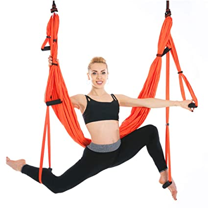 SZ-JSQC Anti-Gravity Yoga Hammock Fabric Yoga Flying Swing ...