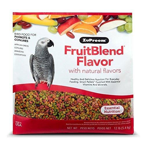 ZuPreem FruitBlend Parrot Conure Medium Large...